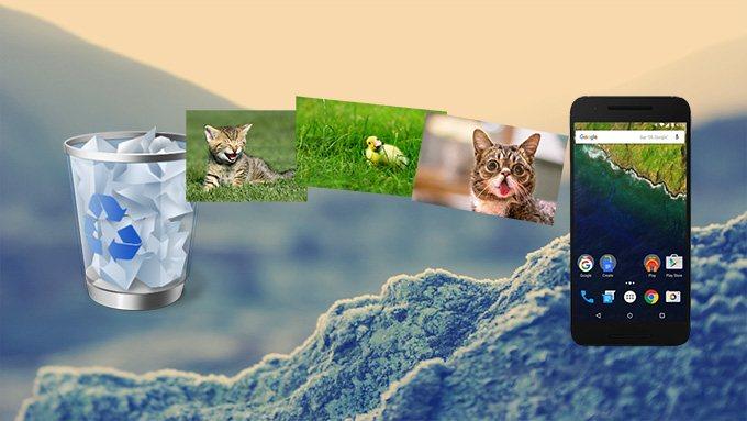 como recuperar fotos apagadas do celular android