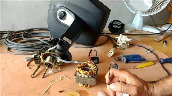 como consertar ventilador