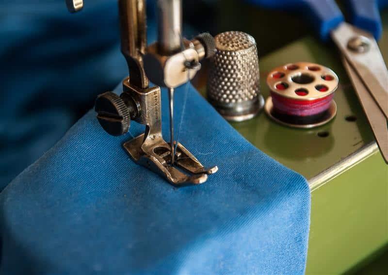 Conserto de máquina de costura Antiga